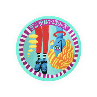BUN-HO!(ぶんほー)&デジタルプレスリーズのグッズのデジタルプレスリーズのアイコンバッジ Badges