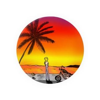 on the beach 2 Badges