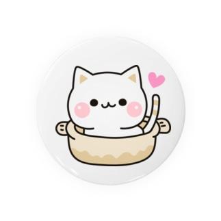 気づかいのできるネコ ねこ鍋 Badges