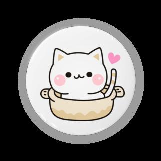 DECORの気づかいのできるネコ ねこ鍋 Badges