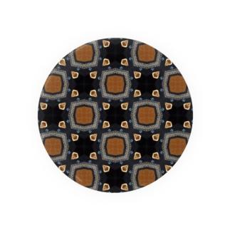 茶紺 Badges