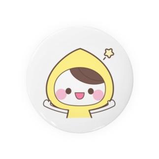 虹色フードちゃん缶バッジ★黄色フードちゃん Badges