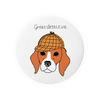 great  detective beagle Badges