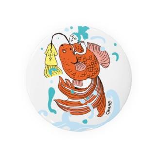 跳ね金魚 Badges