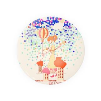 巨人少女の誕生日 Badges