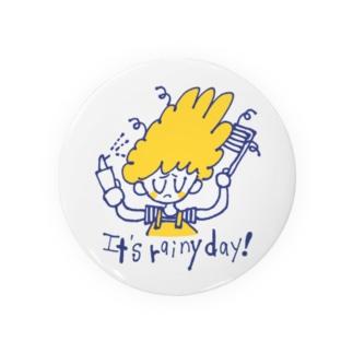 湿気でうまくいかない日 Badges