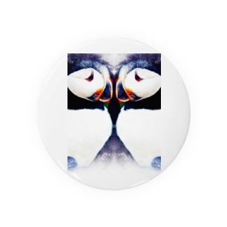 Wパフィン Badges