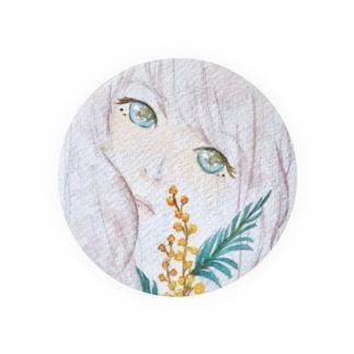 花に聴け Badges