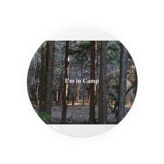 I'm in Campシリーズ Badges