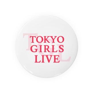 TOKYO GIRLS LIVE Badges