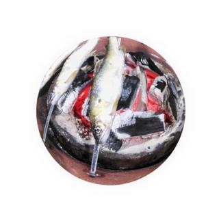 鮎の塩焼き Badges