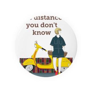 黄色バイク Badges