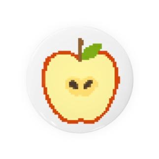 ドット絵りんご Badges