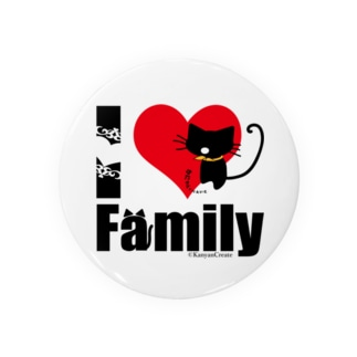 I LOVE Family Badges