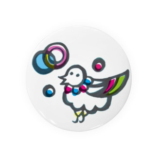 楽園の住人(トリ)な缶バッジ Badges