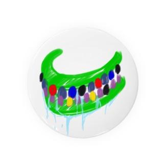 呪いの召喚獣シリーズ(はっぴぃカラオケ入れ歯) Badges