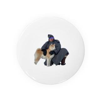 お相撲さんとその犬 Badges
