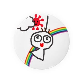 ケムタンのてるてる坊主 Badges