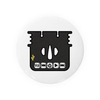 刀剣鍔 ミュージックザムライ Badges