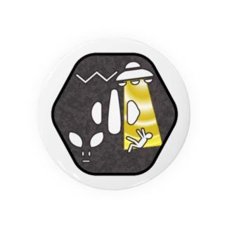 刀剣鍔 アブダクション Badges
