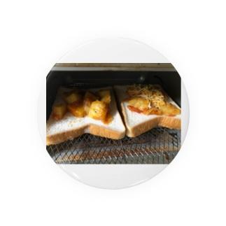 トースト ピザ Badges