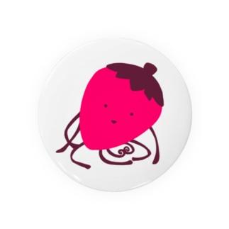 いちごの生き物 Badges