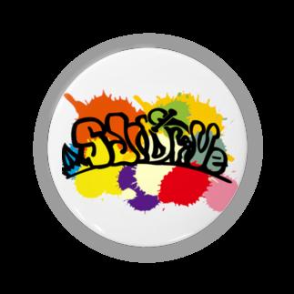 SlidriveのSlidrive缶バッヂ75mm Badges