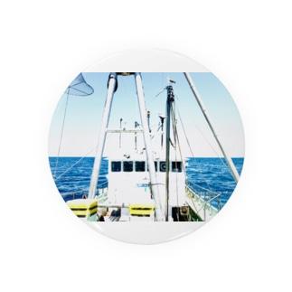 漁師の船の顔 Badges