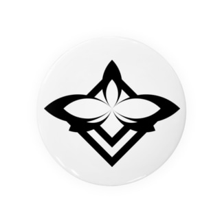 岡田屋 虹花校章 Badges