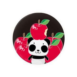 ズレてもぱんだズレぱんだちゃんのリンゴ食べたの誰?C Badges