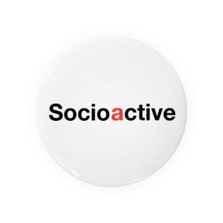 Socioactive-001 Badges