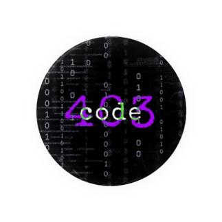 code403   缶バッチ Badges