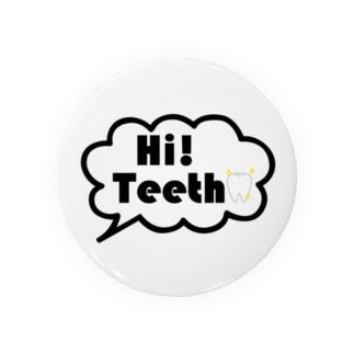 Hi,teethオリジナルグッズ(歯,デンタルグッズ) Badges