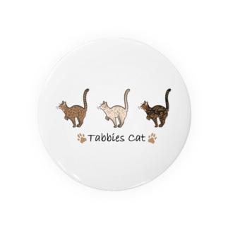 豆つぶのTabbies Cat(ロゼット/ベンガル) Badge