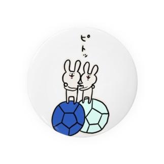 【ボッチャ】ジャックボールにピトッ Badges