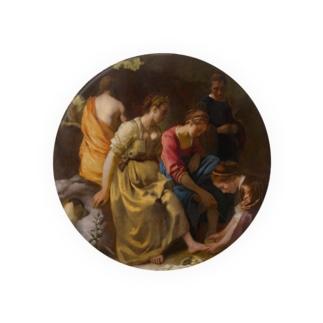 ディアナとニンフたち / フェルメール(Diana and her Companions 1654) Badges