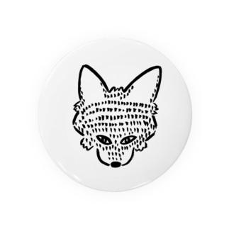 オオカミちゃん Badges