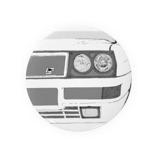 LANCIA DELTA HF FRONT(BK)  Badges