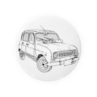 RENAULT 4GTL(BK) Badges