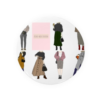 A one week fashion  Badges