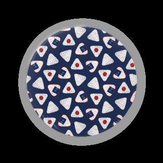 akaneyabushitaの【日本レトロ#07】おにぎり Badges