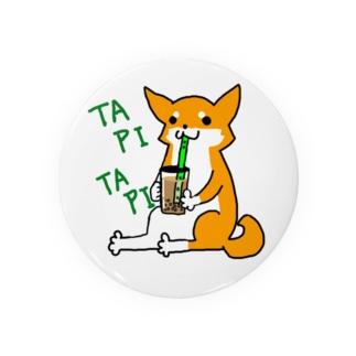 タピタピ柴さん(赤柴) Badges