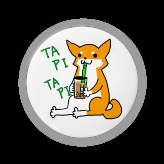浅木愁太@LINEスタンプ販売中のタピタピ柴さん(赤柴) Badges