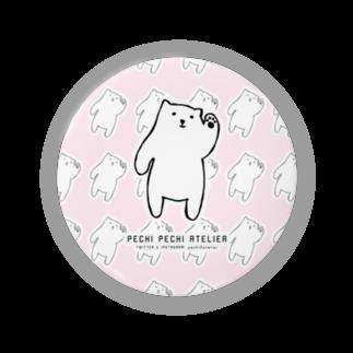 ぺちぺち工房 Pechi Pechi Atelierのしろくまがいっぱい Badges
