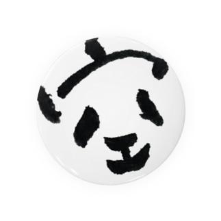 空パンダ Badges
