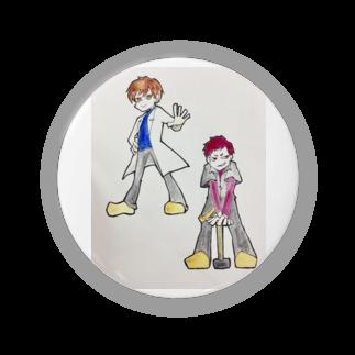 hentouの男二人 Badges