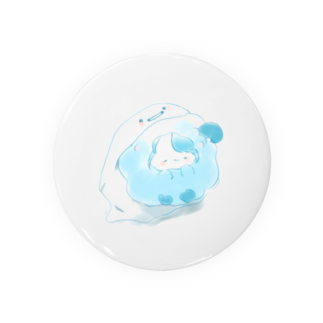 COCOHITUJIの幽霊さんのここひつじさん Badges