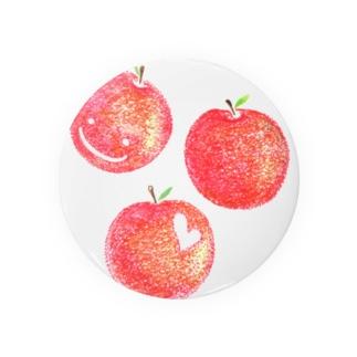 赤いりんご Badges