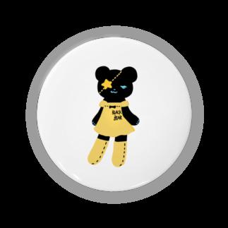 Suzuki Satomi イラストショップの黒クマちゃん Badges