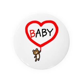 BABYクマちゃん Badges